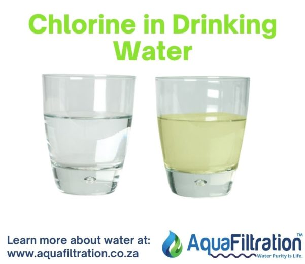 Chlorine in water